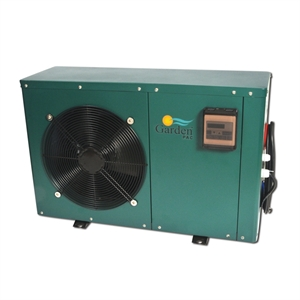 Heat pump garden pac gdh 150 1001 5kw for Garden pool heater