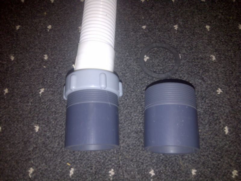 Adapter E2 Hose 1 5 Inch 38mm 2 Inch 50mm